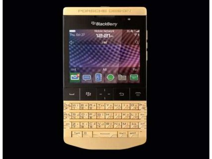 Blackberry Porsche Design P9981 with Arabic keyboard and vip pin