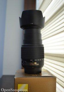 Nikon Lens 55-200+Hood HB-34 |عدسة كاميرا نيكون