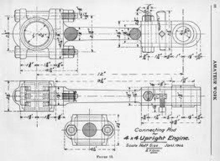 Mechanical drawings تدريس خصوصي لطلاب الهندسة