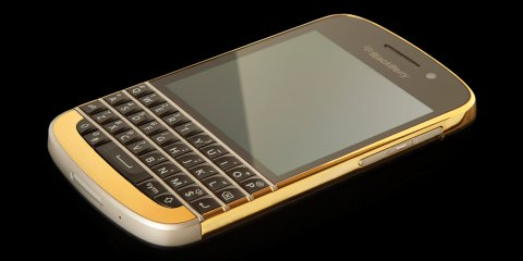 WTS:-BLACKBERRY Q10 Gold Edition Unlocked Phone (BBM CHAT 25F7FA