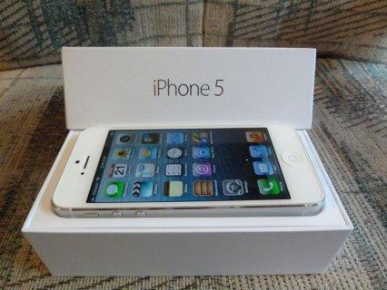 I phone 5 ابيض 23G