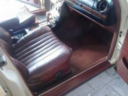 سيارة مرسيدس موديل 1983