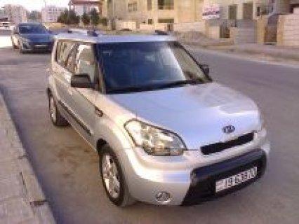 سيارة كيا سول ماشية 58000 كلم موديل 2009