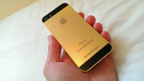 New 24ct Gold Plated iPhone 5s 16GB (Factory Unlocked)