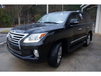 BLACK 2013 LEXUS LX 570 FOR SALE