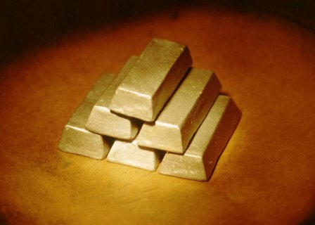 Gold Bar and Rough Diamond for sale.