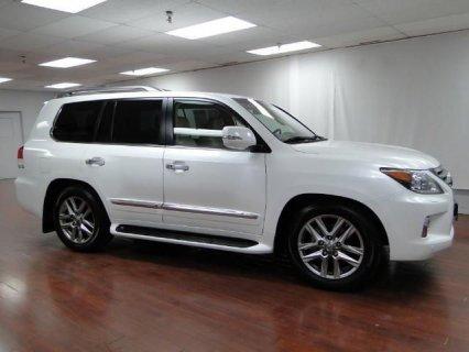 2014 lexus lx 570 4WD SUV
