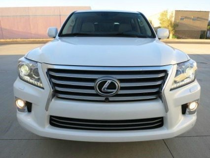 LOW PRICE: 2013 LEXUS LX 570 GULF SPECS.