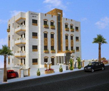 شقة ارضية للبيع خلف الإذاعة والتلفزيون بتصاميم مميزة بسعر مغري.