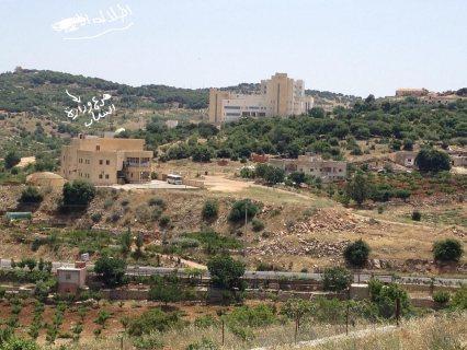 للبيع ارض مطله ومرتفعة وبموقع مميز بأجمل مناطق عجلون