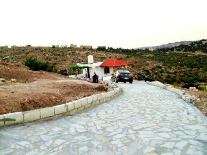 مزرعة 16 دونم و شاليه في اجمل مناطق عجلون