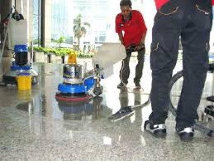 التنظيف التأسيسي ما بعد الدهان للشقق و المجمعات التجارية