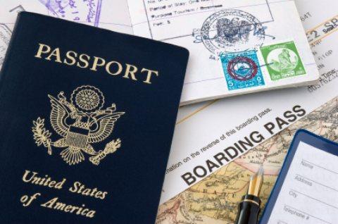 جوازات السفر والتأشيرات المتاحة!