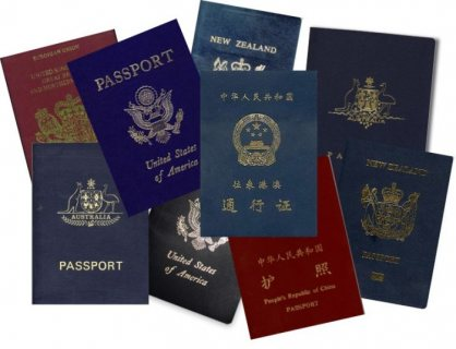 Passports and visas available!