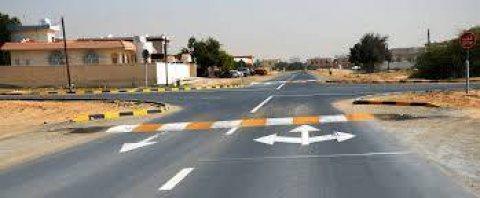 تخطيط الشوارع بأحدث الطرق و المعدات