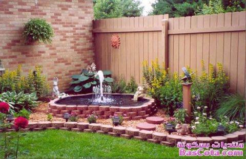 تصميم و بناء جميع انواع الحدائق