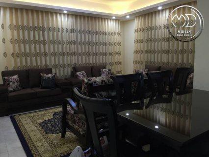 شقة مفروشة فاخرة للايجار 120م في خلدا قرب السيتي مول جديدة من ال