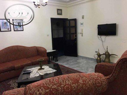 شقة للايجار مفروشة - قرب الكوزمو - الطابق الثاني - 120م