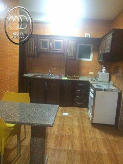 شقة للايجار مفروشة في الرابية - أرضية - 80 م