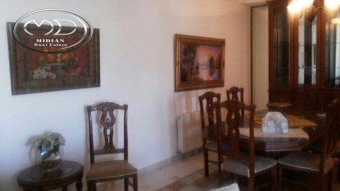 شقة للايجار مفروشة - في ام السماق - خلف الدر المنثور - الطابق الثالث - 180م