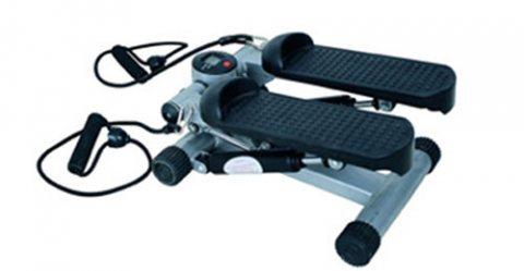 جهاز مينى ستيبر للتنحيف مع حبل لشد عضلات الجسم Mini Stepper Fitness