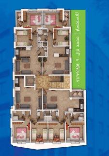 شقة استثمارية للبيع في عمان الجبيهة موقع رائعة عائد سنوي مرتفع