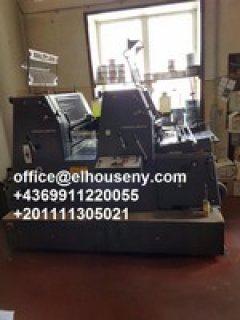 5ماكينة طباعة هايدلبرج جي تي1992