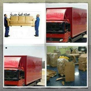 خدمات نقل اثاث شركة الايد الذهبية 0792665978 )