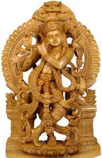 Most beautiful wood carving sculpture for sale