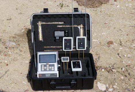 BR 800 P أفضل جهاز إستشعاري لكشف الذهب والكنوز والمعادن لعمق 50 م , دائري 2000 م