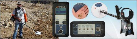 GPX 4500 جهاز الكشف عن الذهب الخام وشذرات الذهب الدقيقة بأفضل سعر  .