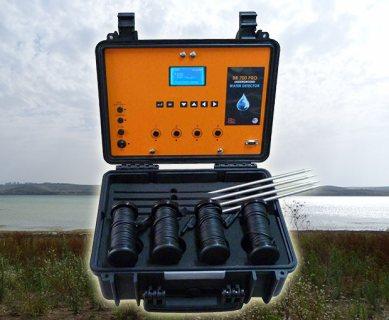 BR 700 PRO كاشف المياة الجوفية مع تحديد نوع المياة لعمق 700 متر في باطن الأرض