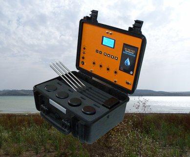 جهاز BR 700 PRO كاشف المياه الجوفية وتحديد نوع المياة لعمق 700 متر - بي ار دبي