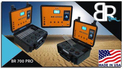 جهاز BR 700 PRO الأفضل كاشف المياة الجوفية وتحديد نوعها لعمق 700 متر
