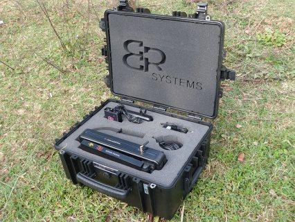 التصويري الأفضل عالميا 3D كاشف المعادن والكنوز والدفائن والكهوف والفراغات 32 م