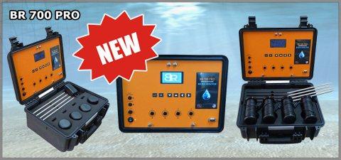 جهاز BR 700 PRO كاشف المياة الجوفية وتحديد نوع وعمق المياة ل 700 متر - بي ار دبي