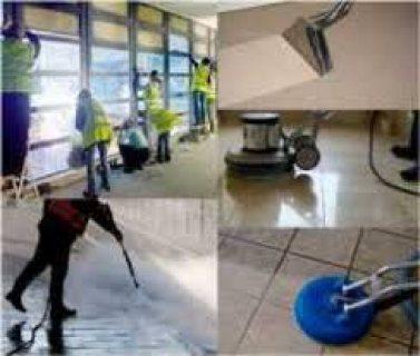 تنظيف شامل بعد البناء و الدهان و جلي و تلميع البلاط