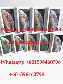 Apple iPhone XS $600 USD iPhone XS Max $700 iPhone X $500 Whatsapp +601596460798