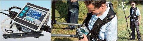 أجهزة كشف الذهب والدفائن بالنظام الصوتي والتصويري LORENZ Z1 - شركة بي ار دبي