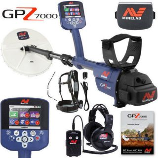 Gold and Metal Detector GPZ 7000 By DST Detectors جي بي زد 7000 لكشف الذهب
