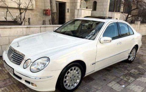 مرسيدس E200 موديل 2005 للبيع