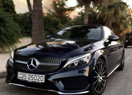 Mercedes c coupe AMG
