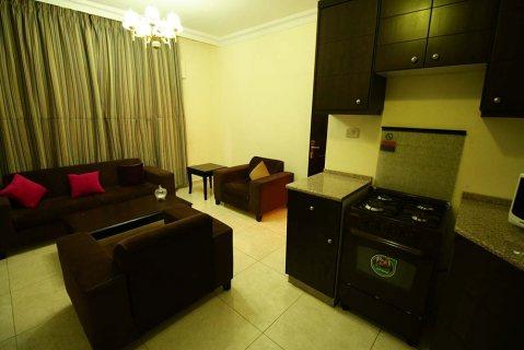 شقة مفروشة للايجار في عمان الاردن غرفتين نوم
