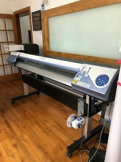 Roland VersaCAMM VS-640i Large-Format Inkjet Printer/Cutter
