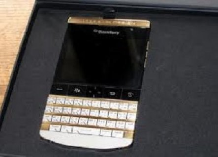 صور For sale:Gold BlackBerry Porsche Design P9981 With Arabic  1