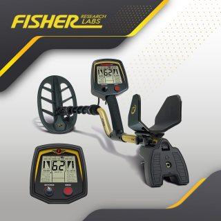 Fisher 75 / الجهاز الصوتي الاول لكشف الذهب و المعادن الثمينة