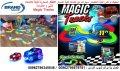 ماجيك تراكس لعبة المضمار سيارات مع اضاءة لعبة المسار الاطفال السحرية