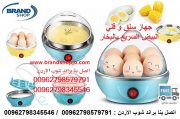 جهاز سلق و قلي البيض السريع بالبخار طريقة سلق البيض الصحيه  Egg Boiler Steamer