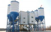 محطة خلط الخرسانة HZS120,الخرسانة 120 م3/ساعة,مصنع خلط الخرسانة للبيع