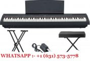 ياماها P-115B 88-Key Pined Hammer Digital Piano